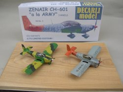 ZENAIR CH-601 Krabice a hotové modely