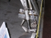 Přední podvozková noha