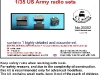 35502 US Army radio set 3 in 1