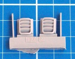 Quickboost Su-7BKL odlitky