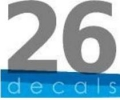 26 decals_logo