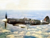 Spitfire F21, 615 Sqn. Royal Auxiliary Air Force Biggen Hill 1947,2,050 hp RR Griffon 65 engine