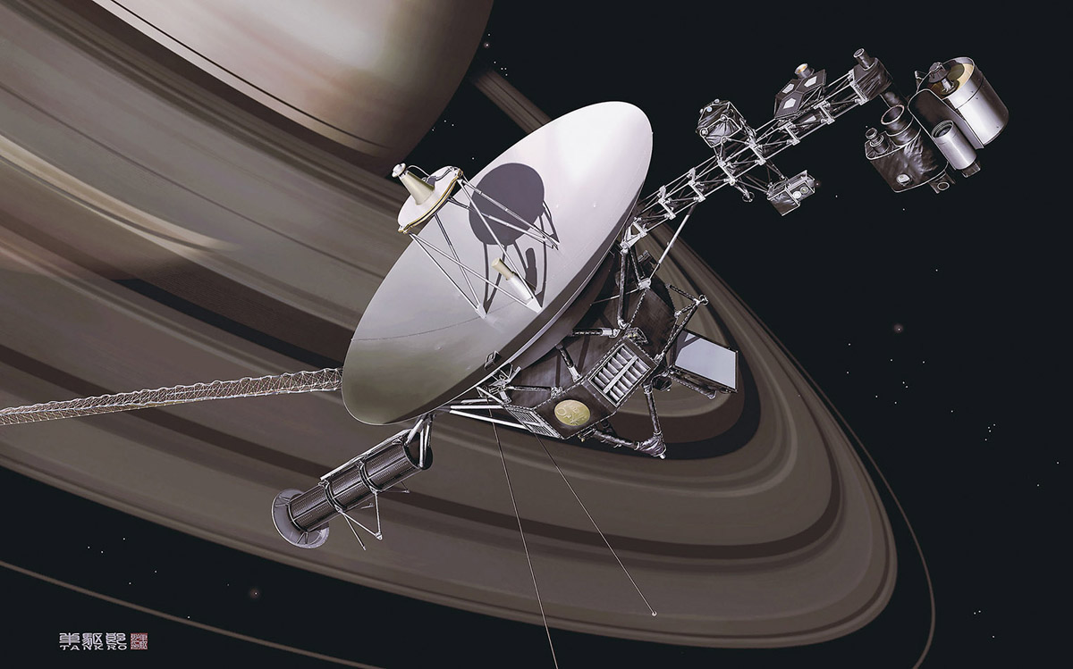 space probe voyager - 1000×624