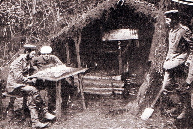 German-officers-accomodation-on-the-Aisne