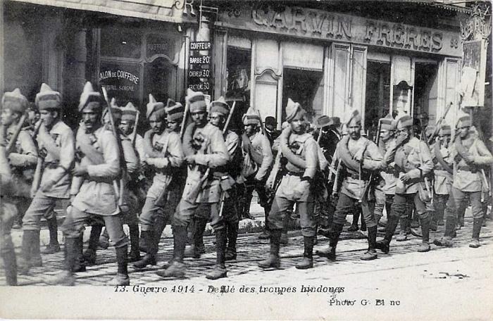 PC-Punjabi Regiment 1914