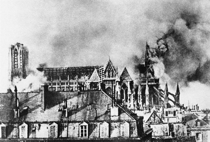 Rheims cathedrale