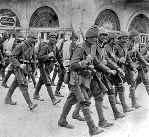ottoman-troops-marching