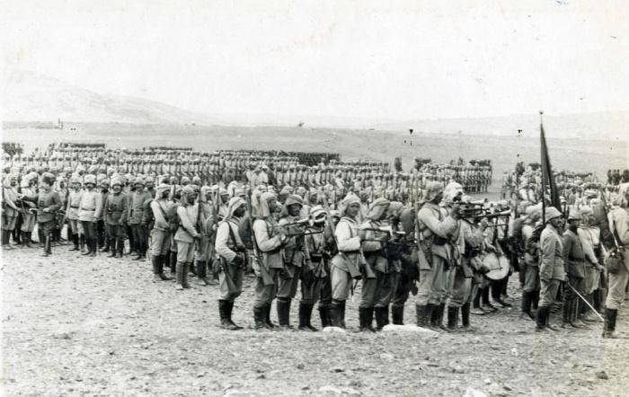 ottomans infantry