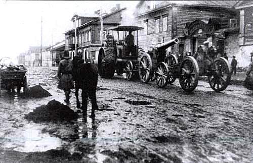 russian heavy artillery
