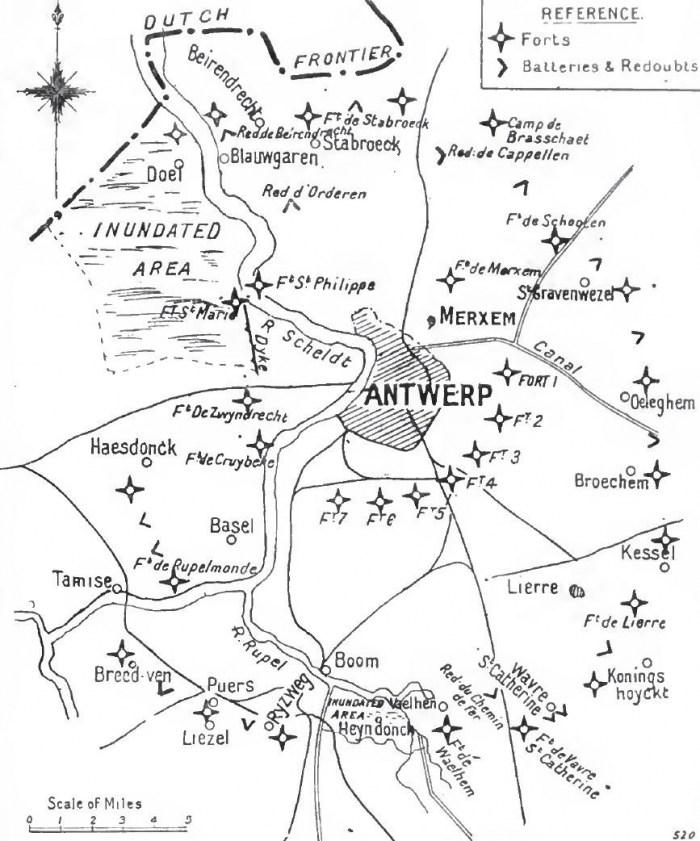 Antwerp_defences,_1914