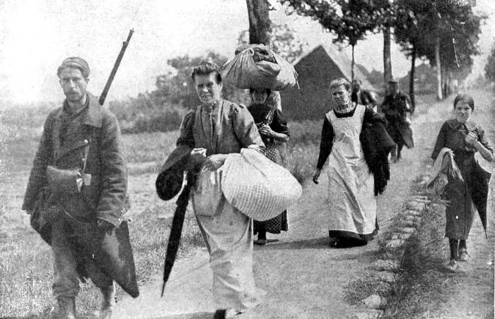 Belgian-refugees