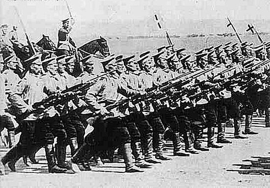 Imperial russian troops