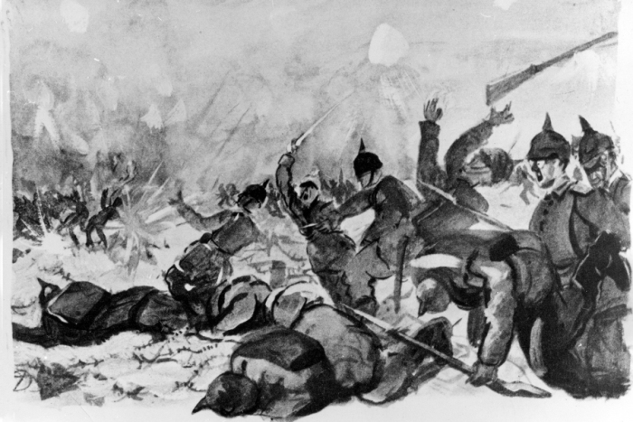 Langemarck Schlachtfeld 1