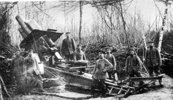 german heavy artilerry