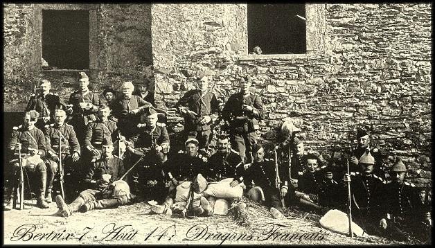 1914 des-Dragons-Français-à-Epernay