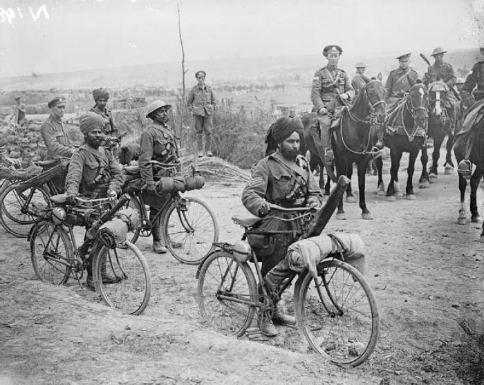 Indian_bicycle_troops