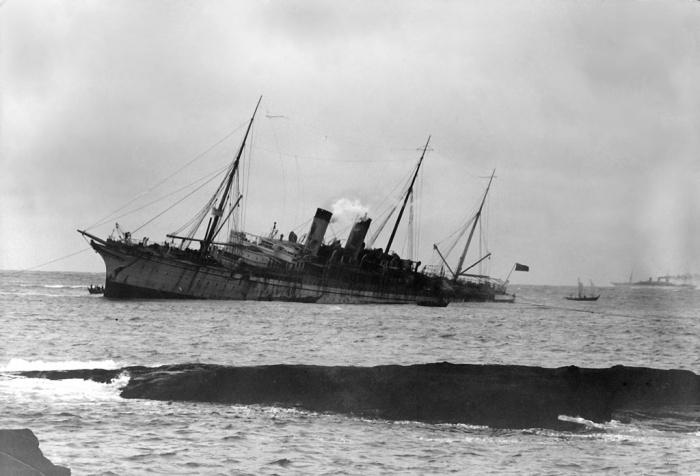 Oceanic-wreck