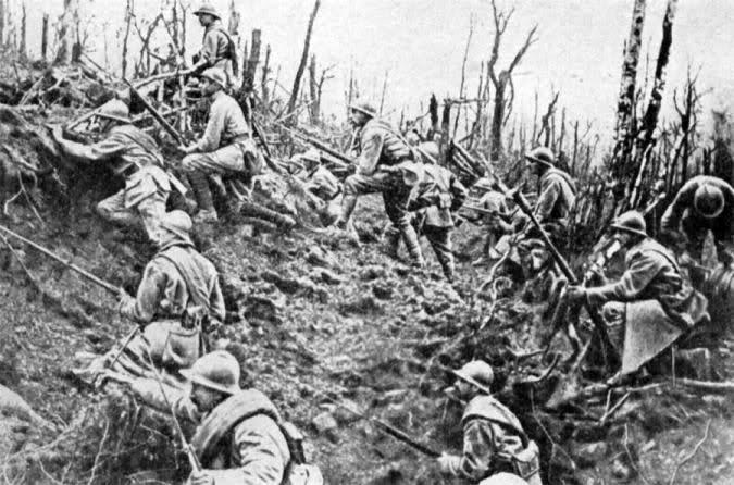 infantry in Oise