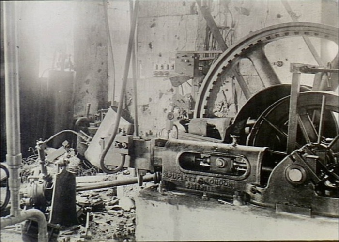 interior of the Engine Room of the Pacific Cable Board