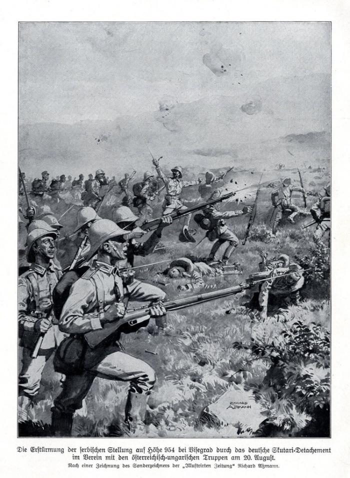 1914 eastern front  Serbia Visegrad
