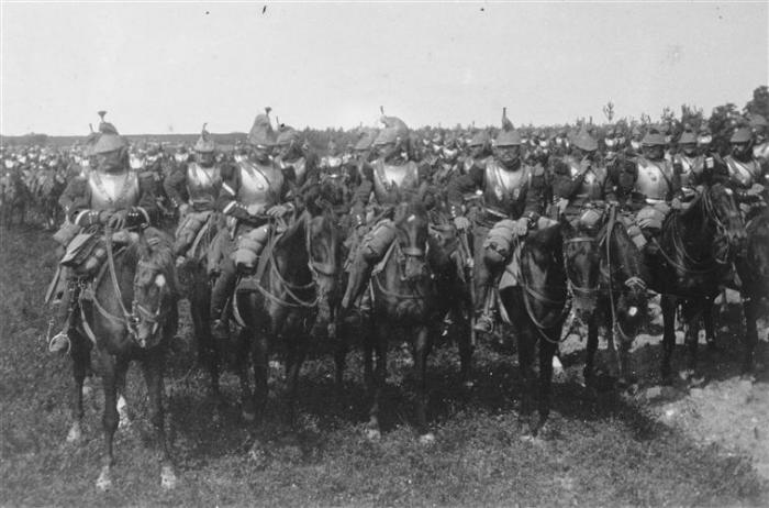 French cuirassiers in 1914