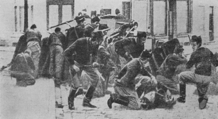belgian infantry in Wavre