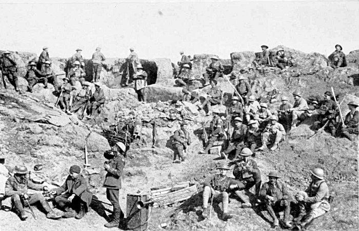 british infantry St Quentin