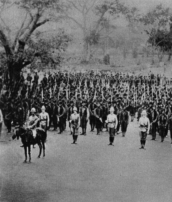 british troopers in Togoland