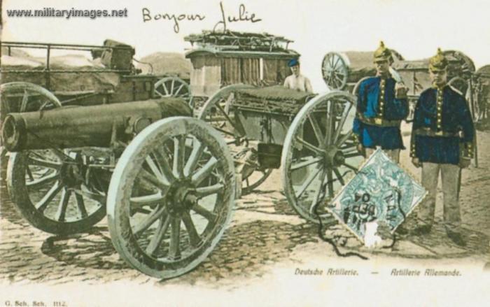 Clio_Team_Postcard_1914-1918_Artillerie_Allemande_German_artillery