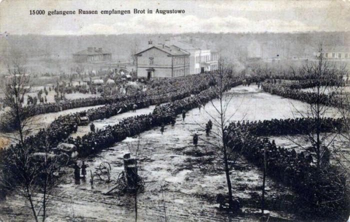 Russian prisoners