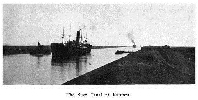 The Suez Canal at Kantara