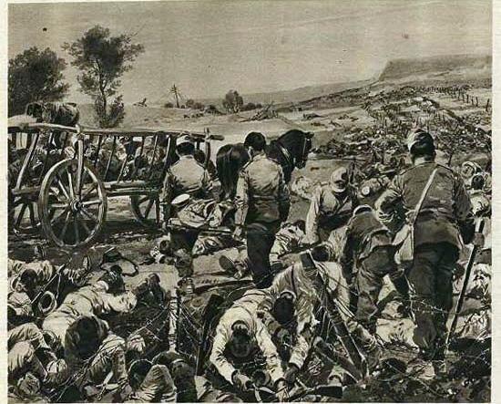 przemysl-siege-burial-of-russians-das-interessante-blatt-1914-550
