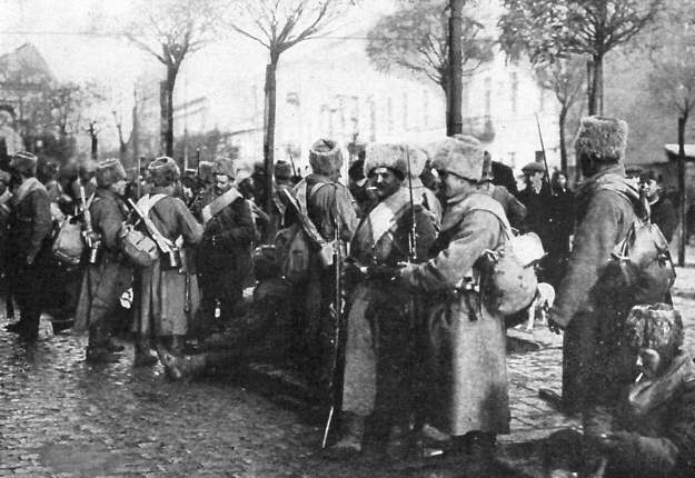 russian troops at december 1914