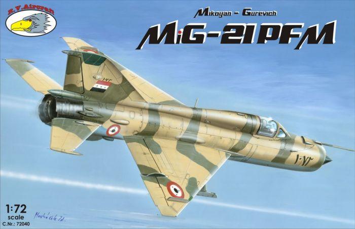 MiG-21PFM box-art C.Nr. 72040