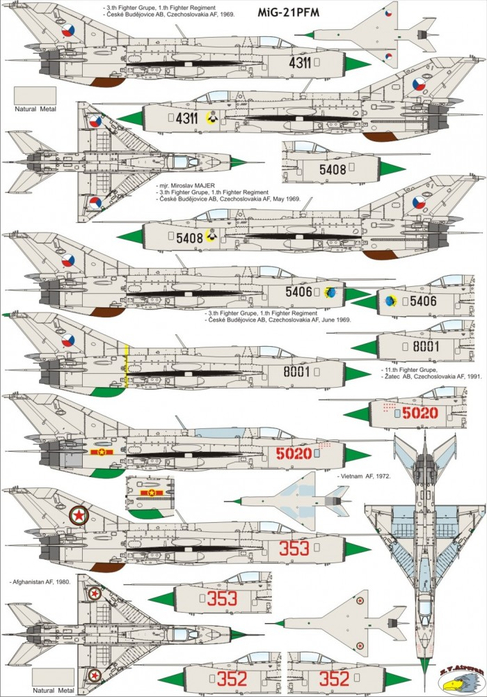 MiG-21PFM kamu 1