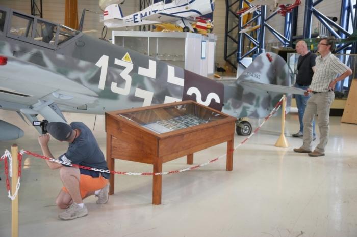 Fotografie z měření Bf 109G-6 ve Vídni.