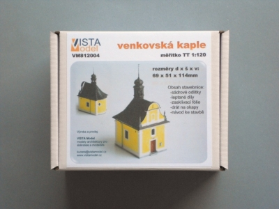 kaple model tt krabice
