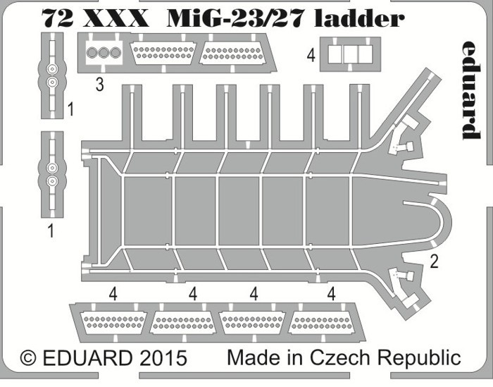 PE72051 - MiG23,27ladder