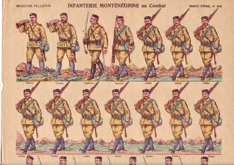 Montenegro----Infantry-WW1-by-Epinal-72-785955