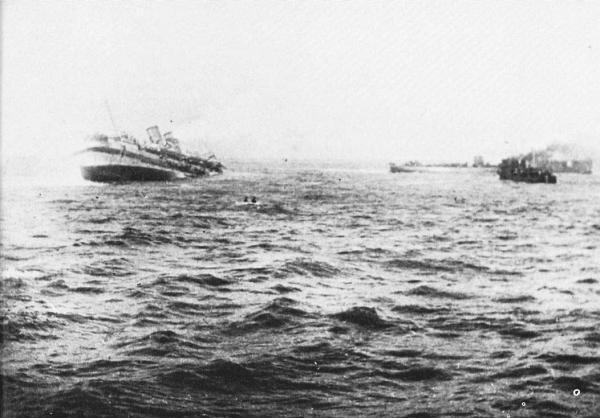 HMHS_Anglia_sinking