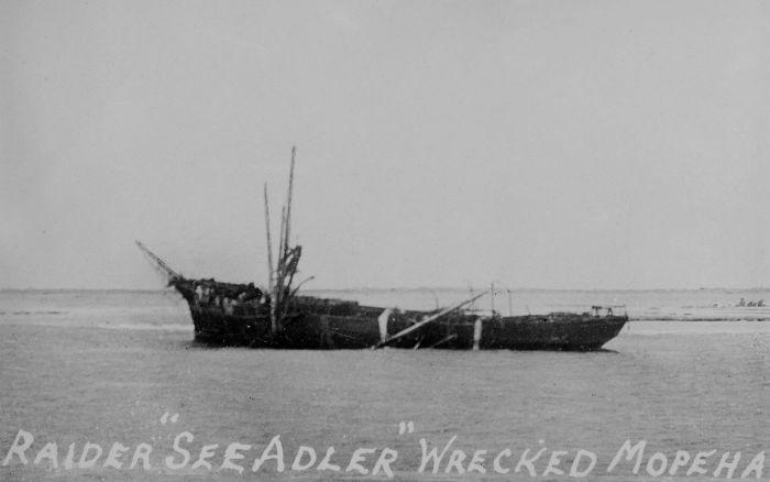 Seeadler wrecked