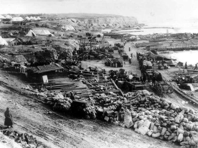Suvla-Bay evacuation