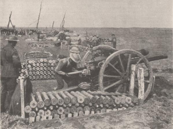 artillery 1915
