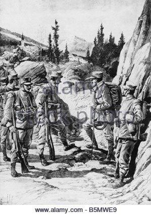 trentino 1915