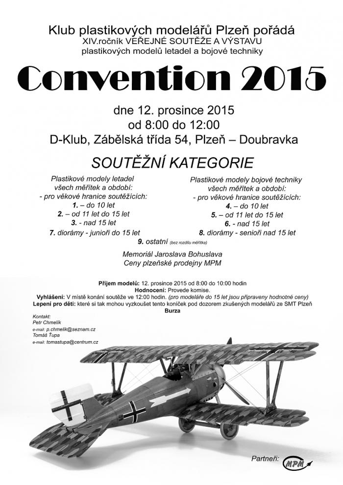 Convention 2015 - Plakát A3