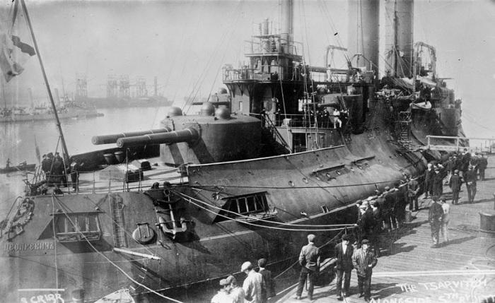 18.1 Russian battleship Tsesarevich