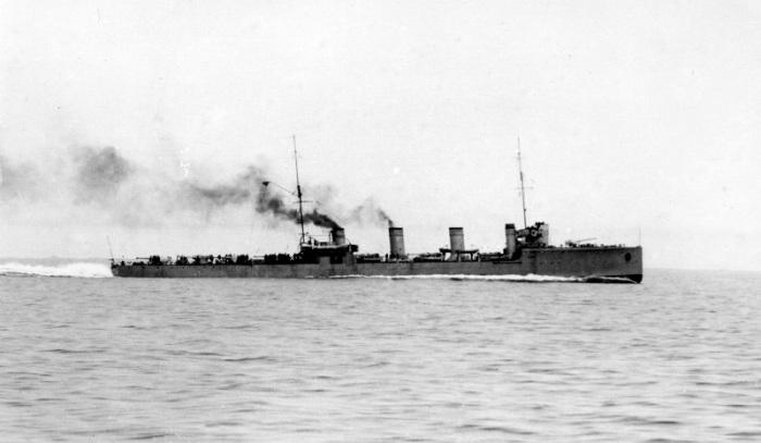 26.1. Russian destroyer Novik