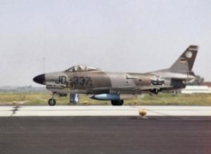 German_F-86K_JG_74_on_runway_1965