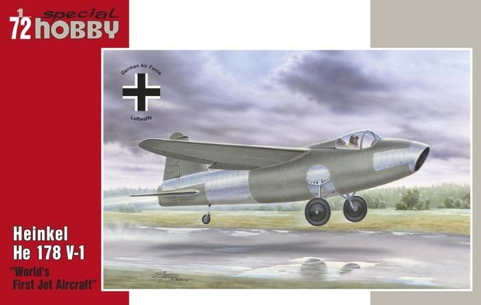 SH72321 Heinkel He 178 V-1
