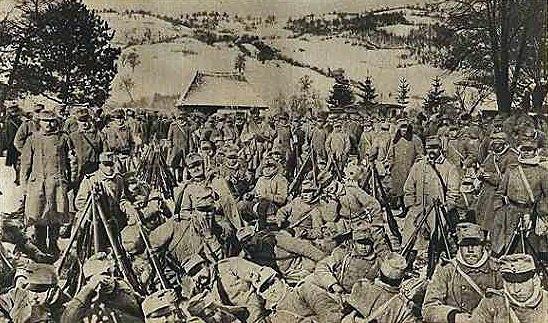 Austrian troops Baligrod.jpg